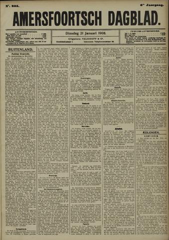 Amersfoortsch Dagblad 1908-01-21