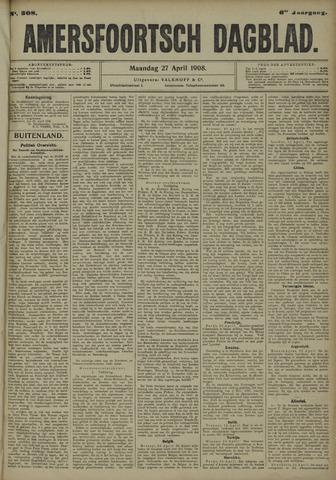 Amersfoortsch Dagblad 1908-04-27