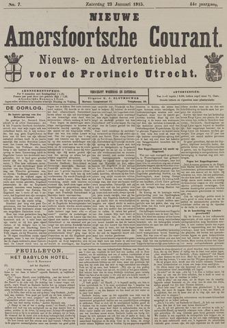 Nieuwe Amersfoortsche Courant 1915-01-23