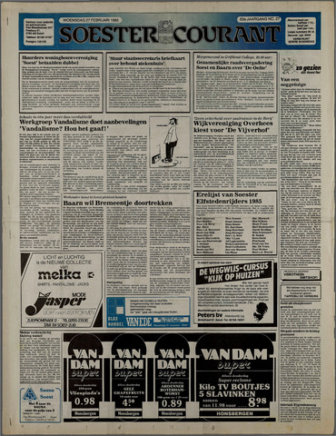 Soester Courant 1985-02-27
