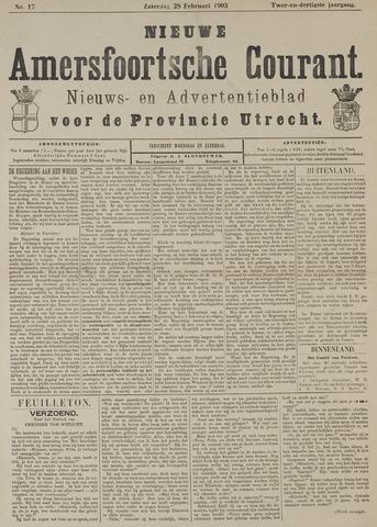 Nieuwe Amersfoortsche Courant 1903-02-28