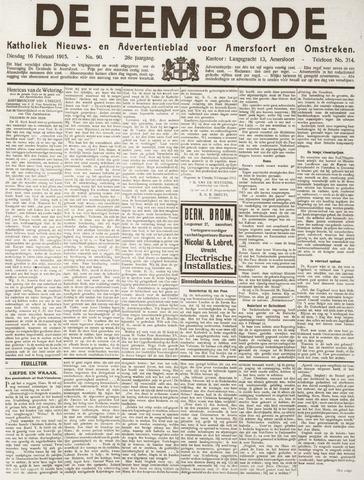 De Eembode 1915-02-16