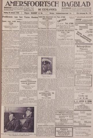 Amersfoortsch Dagblad / De Eemlander 1935-01-25