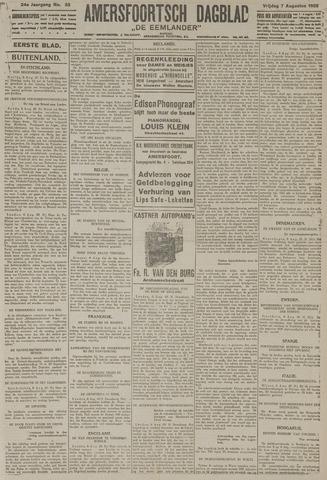 Amersfoortsch Dagblad / De Eemlander 1925-08-07