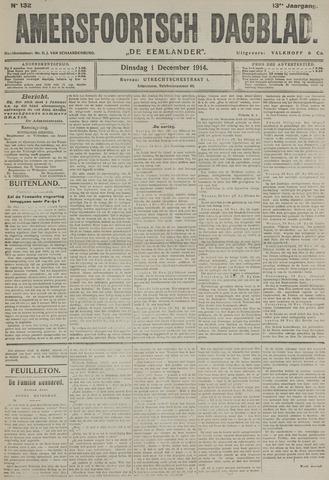 Amersfoortsch Dagblad / De Eemlander 1914-12-01