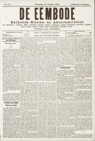 De Eembode 1904-10-29