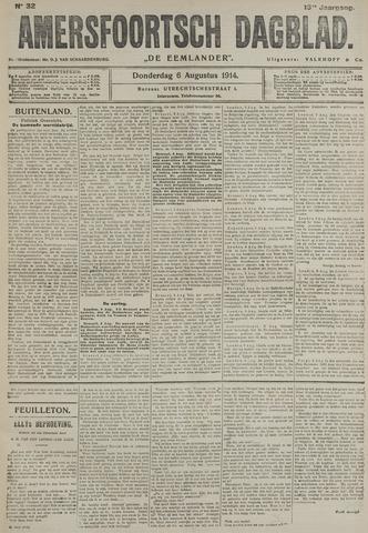 Amersfoortsch Dagblad / De Eemlander 1914-08-06