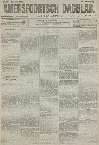 Amersfoortsch Dagblad / De Eemlander 1913-12-13