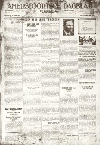 Amersfoortsch Dagblad / De Eemlander 1930-04-10