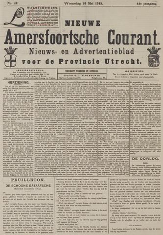 Nieuwe Amersfoortsche Courant 1915-05-26