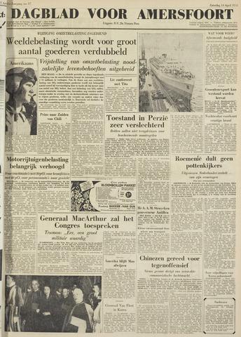 Dagblad voor Amersfoort 1951-04-14