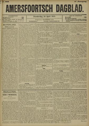 Amersfoortsch Dagblad 1905-04-20