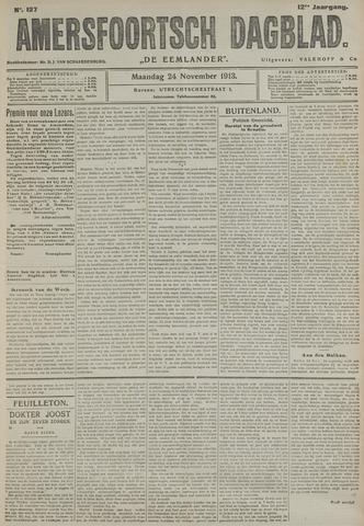 Amersfoortsch Dagblad / De Eemlander 1913-11-24