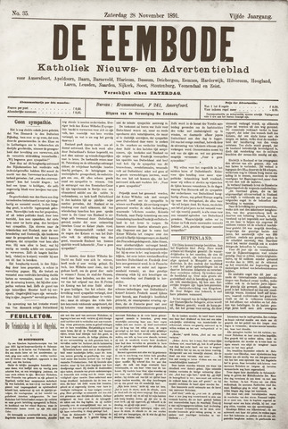 De Eembode 1891-11-28