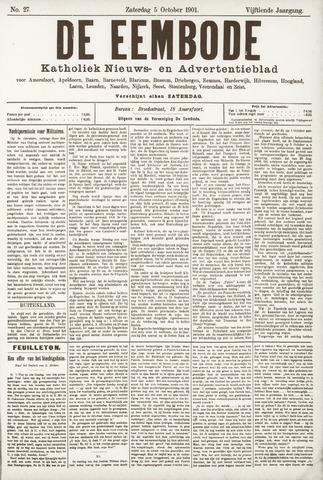 De Eembode 1901-10-05