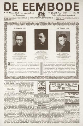 De Eembode 1925-02-13