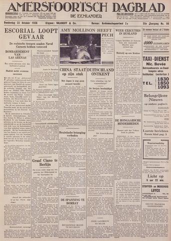 Amersfoortsch Dagblad / De Eemlander 1936-10-22