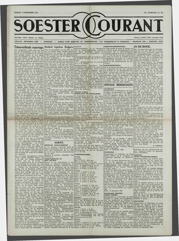 Soester Courant 1958-09-19