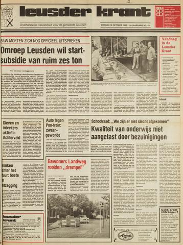 Leusder Krant 1983-10-18