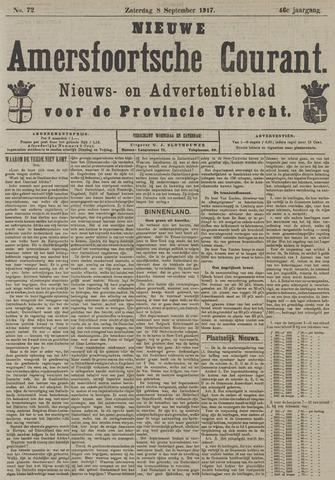Nieuwe Amersfoortsche Courant 1917-09-08