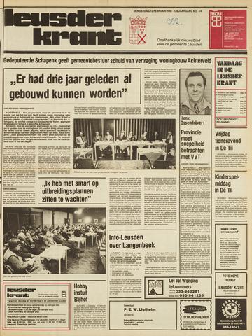 Leusder Krant 1981-02-12