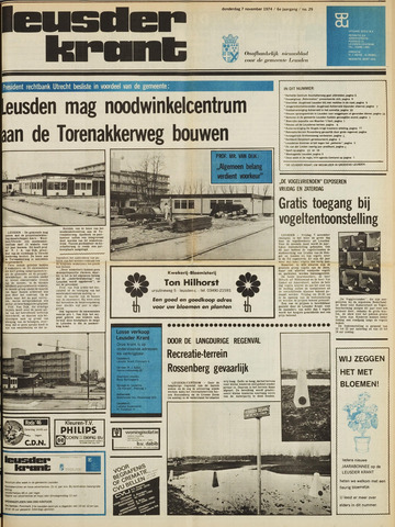 Leusder Krant 1974-11-07