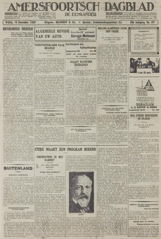 Amersfoortsch Dagblad / De Eemlander 1930-12-19