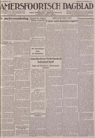 Amersfoortsch Dagblad / De Eemlander 1941-11-25