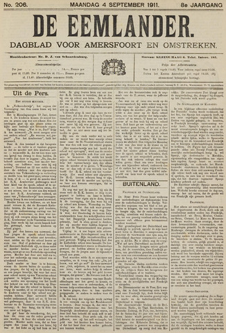 De Eemlander 1911-09-04