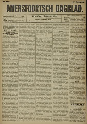 Amersfoortsch Dagblad 1910-12-21