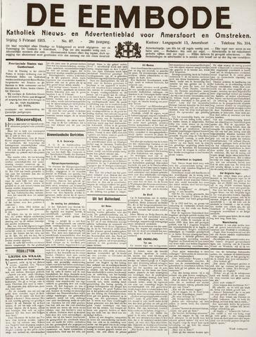 De Eembode 1915-02-05
