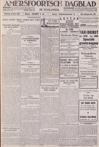 Amersfoortsch Dagblad / De Eemlander 1935-06-15
