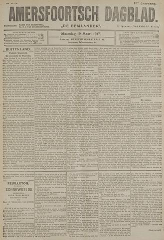 Amersfoortsch Dagblad / De Eemlander 1917-03-19