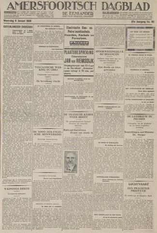 Amersfoortsch Dagblad / De Eemlander 1929-01-09