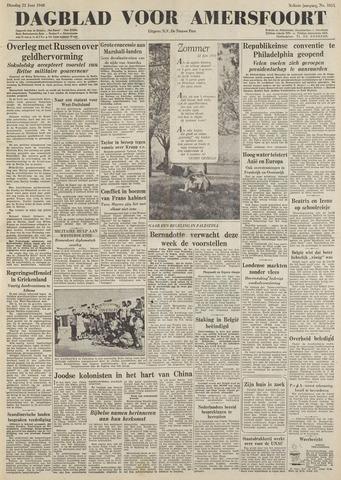 Dagblad voor Amersfoort 1948-06-22