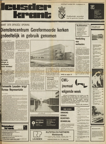 Leusder Krant 1975-11-27