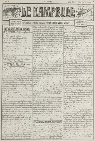 De Kampbode 1916-03-05