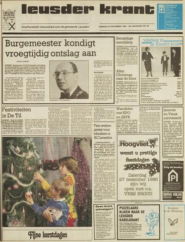 Leusder Krant 1986-12-23