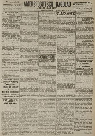 Amersfoortsch Dagblad / De Eemlander 1923-10-22