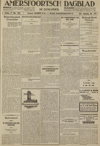 Amersfoortsch Dagblad / De Eemlander 1932-05-27