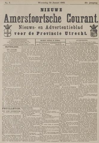 Nieuwe Amersfoortsche Courant 1912-01-24