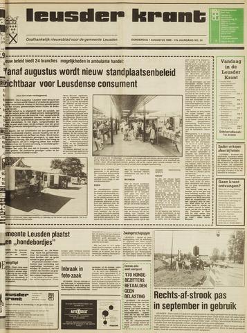Leusder Krant 1985-08-01