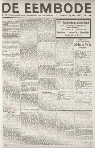 De Eembode 1923-01-23