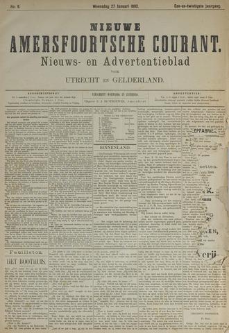 Nieuwe Amersfoortsche Courant 1892-01-27