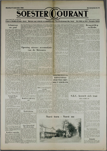 Soester Courant 1966-09-27