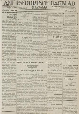 Amersfoortsch Dagblad / De Eemlander 1929-02-14