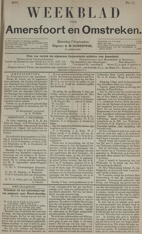 Weekblad voor Amersfoort en Omstreken 1872-09-07