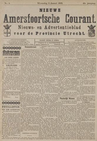 Nieuwe Amersfoortsche Courant 1912-01-03