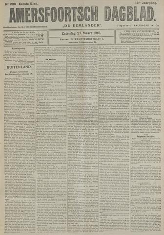 Amersfoortsch Dagblad / De Eemlander 1915-03-27