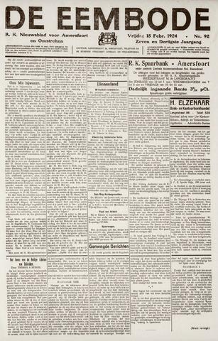 De Eembode 1924-02-15
